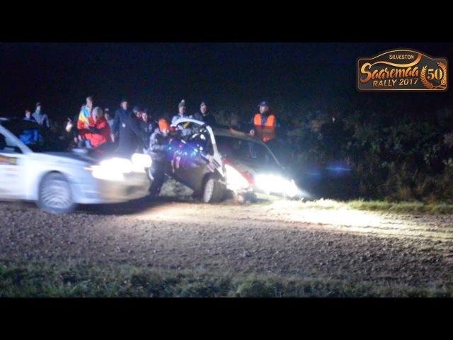 Saaremaa Rally 2017 (Crashes, mistakes and OFFs) [Kaugatoma Kuressaare]