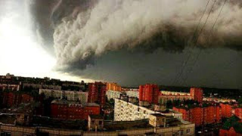 Ливень в Москве 2017 / Дождь и град в Москве 30 июня 2017 ВИДЕО