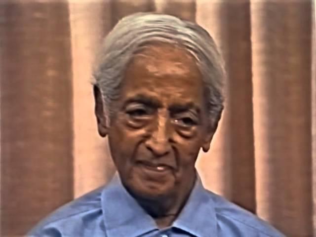 Джидду Кришнамурти: Что ограничивает мышление? (Беседа 6, Швейцария, Саанен, 24/07/1983)