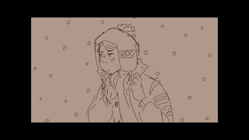 Falling in love at a coffee shop || CREEK SOUTH PARK ANIMATIC