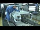 Как собирают легендарный Гелик Mercedes-Benz G-class
