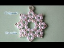 DIY Colgante facil estrella de 8 puntas DIY Easy 8 pointed star pendant