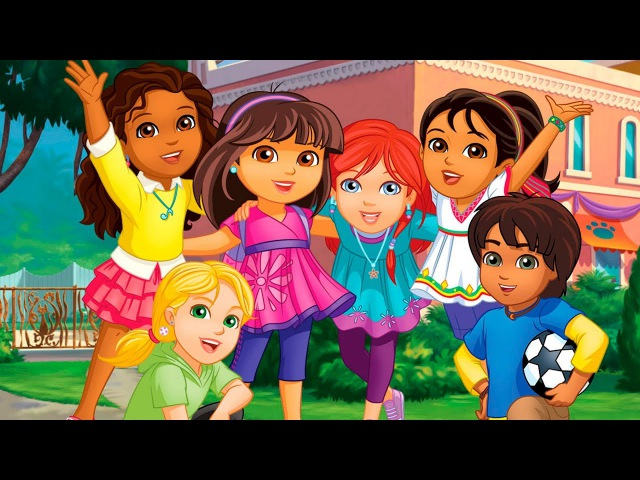 Dora Friends Charm Magic Fun Kids Games