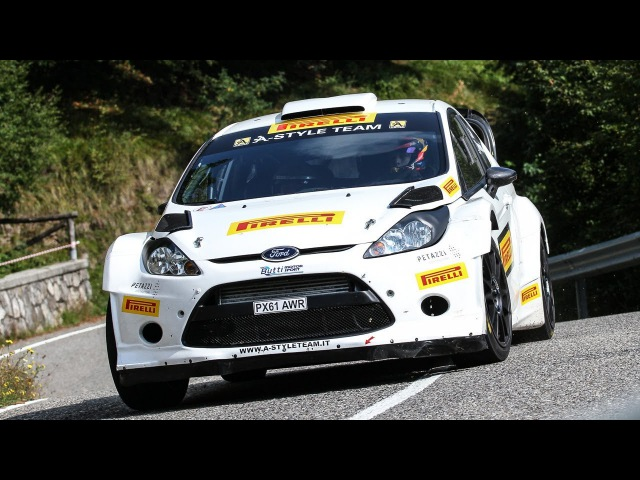 16-year-old Kalle Rovanperä in Action - Ford Fiesta WRC [HD]