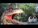 парк динозавров это вам не мультик поезд динозавров а огромные динозавры  видео ...