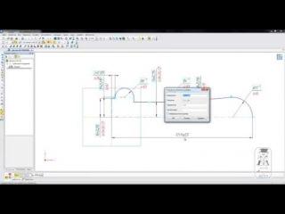 Создание параметрической детали Ручка в КОМПАС-3D ( ускорено в 3 раза!)