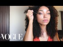 How to Master Your Curl Pop Like Dear White People's Logan Browning   Beauty Secrets