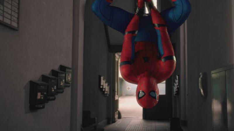 Человек паук: Возвращение домой / Реклама с пиццей 2017