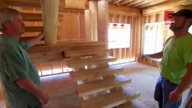 Уникальные дома из дерева Pioneer выпуск 3
