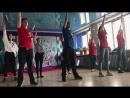 Танец ко дню флага Российской Федерации