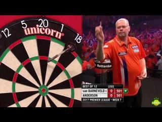 Raymond van Barneveld vs Gary Anderson (2017 Premier League Darts / Week 7)
