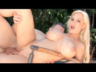 Diamond Foxxx - Bikini Pool Pick-up [Big Tits, Blonde, Blowjob, MILF, New Porn 2017]