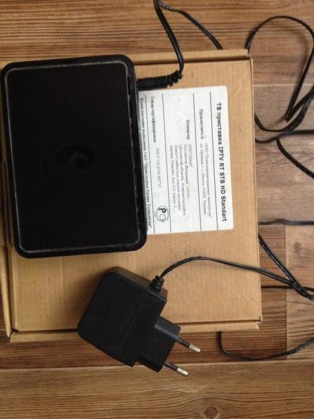 ТВ приставка IPTV RT STB HD Standart.Цена 600 рублей.