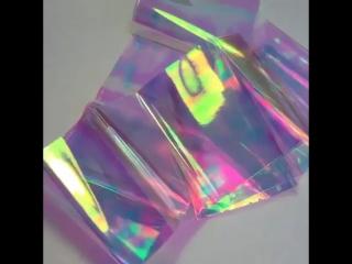 Фольга битое стекло для дизайна ногтей Интернет-магазин www.d-nails.by