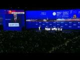 Владимир Путин выступил на пленарном заседании ПМЭФ