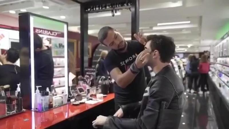 Aytaç Şaşmazın Sephora keyfi