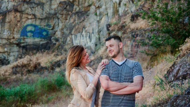 Love story Дима Лиза Найди меня мама на фото