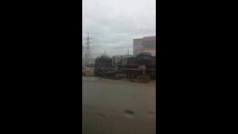 авария Наб. Челны у светофора поворот на ЗЯБ (1 дорога)