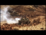 Сирийская армия в боях за Вади-Барада (нарезка снятого до 25 января 2017) :