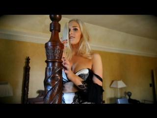 Stacey Brooks hot blonde striptease