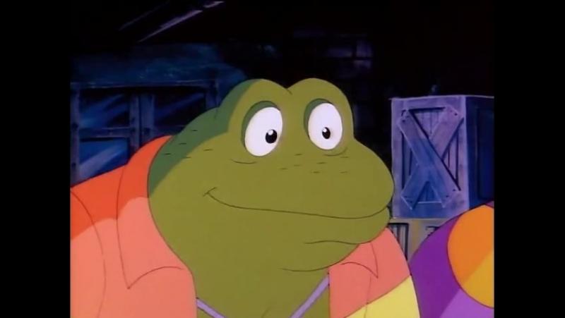 Черепашки Мутанты Ниндзя 2 Сезон 8 Серия «Вторжение лягушек-панков» (1987)