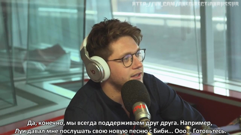 Niall Horan's opinion of other One Direction members songs [RUS SUB]