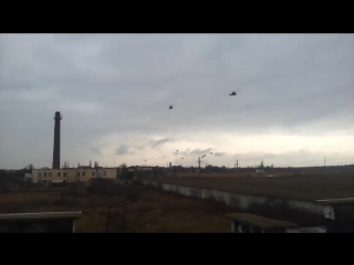 Российские вертолеты летят в Крым. _Red Alert Version_