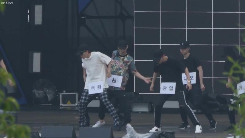 170724 EXO - Ko Ko Bop @ Show Music Core 2017 Ulsan Summer Festival Rehearsal