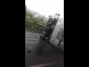 ДТП с перевернутым грузовиком. С. Шадейка Кунгурский район. 9 августа