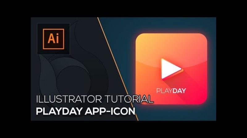 Playday App-Icon erstellen | Illustrator Tutorial | Wildfire Graphics