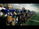 Жесть! Женский американский футбол! Лучшие моменты!
