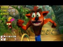 Crash Bandicoot Remake but Every Sound Effect is From Sonic the Hedgehog