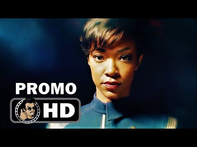STAR TREK DISCOVERY Official Promo Trailer We Come in Peace (HD) Sonequa Martin-Green Series