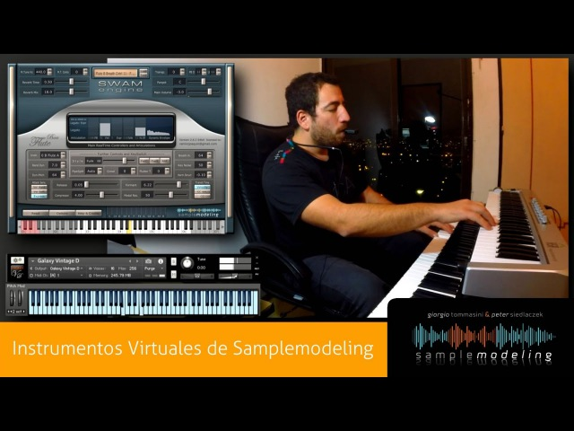 Sample Modeling and Breath Controllers Midi Demo! The Most Realistic Virtual Instruments, Samplemodeling Technology