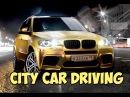 ШАШКИ НА BMW X5 GOLD! ОПАСНОЕ ВОЖДЕНИЕ! CITY CAR DRIVING!