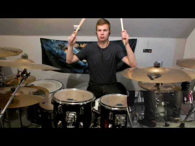 Rammstein-Rammlied (Drum Cover by Vincent Seidler/HD)