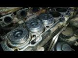 Замена компрессионных колец на дизельном моторе Вольво хс70.