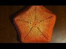 Плетение из корня бумажными трубочками Часть 2