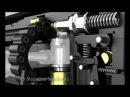 PCP Bullpup semi a Huben K1 Descripcion y funcionamiento interno