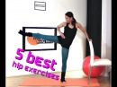 FREE Ballet Barre Hip and Thigh Workout 5 Best Hip Exercises BARLATES BODY BLITZ