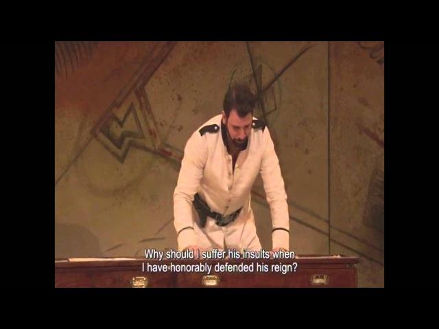 Metropolitan Opera Live in HD 2013 Guido Loconsolo Handel's Julio Ceasar Achilla's III act scene