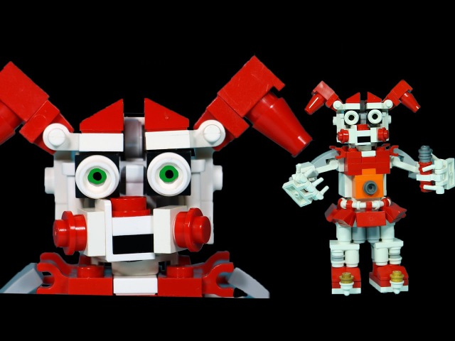 How to Build LEGO FNAF Circus Baby | Five Nights At Freddy's Sister Location Custom Build