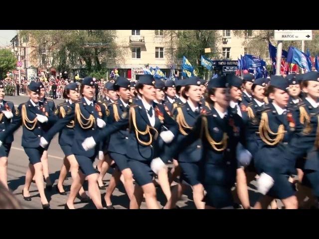 Случай на параде в г. Рязани!
