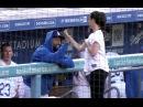 Olivia Munn After Throwing First Pitch - Matt Kemp Meets All the Pretty Girls at Dodger Stadium