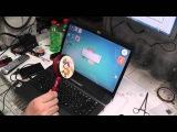 Шуточный ролик.Как мы ремонтируем ноутбуки , танцы с бубном.