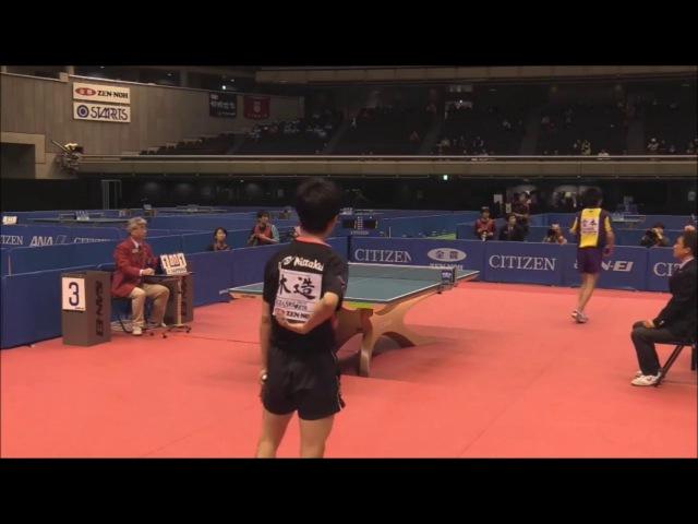 2017 All Japan Championships Men's Junior FInal Kizukuri Yuto(Aikodai Meiden HS) - Miyamoto Haruki(Aikodai Meiden HS)