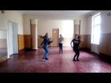 Крутой Shuffle dance под песню