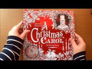 Charles Dickens' A Christmas Carol A Colouring Classic by Vladimir Aleksic and Kate Ware
