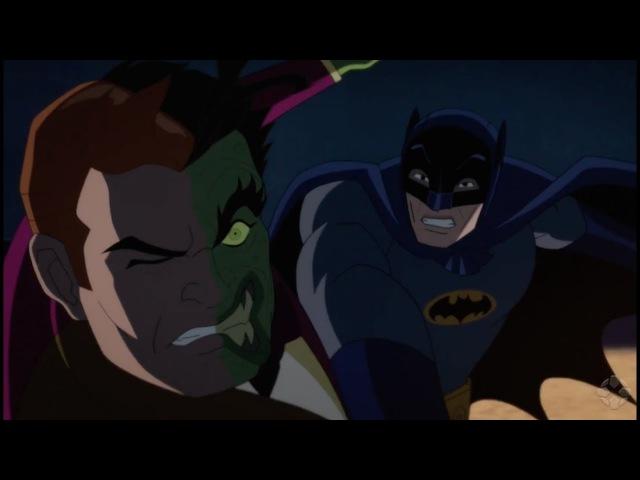 Batman vs Two Face Trailer Debut 0017 Adam West William Shatner