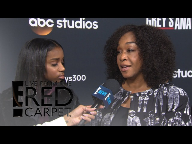 How Grey's Anatomy Will Honor Ellen Pompeo Shonda Rhimes | E! Live from the Red Carpet